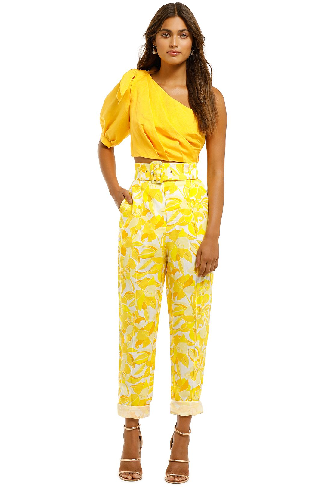 Significant-Other-Rockpool-Pant-Golden-Floral-Front