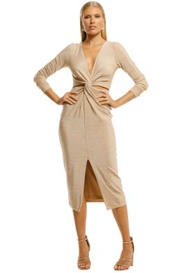 Significant-Other-Sanctuary-Dress-Gold-Front