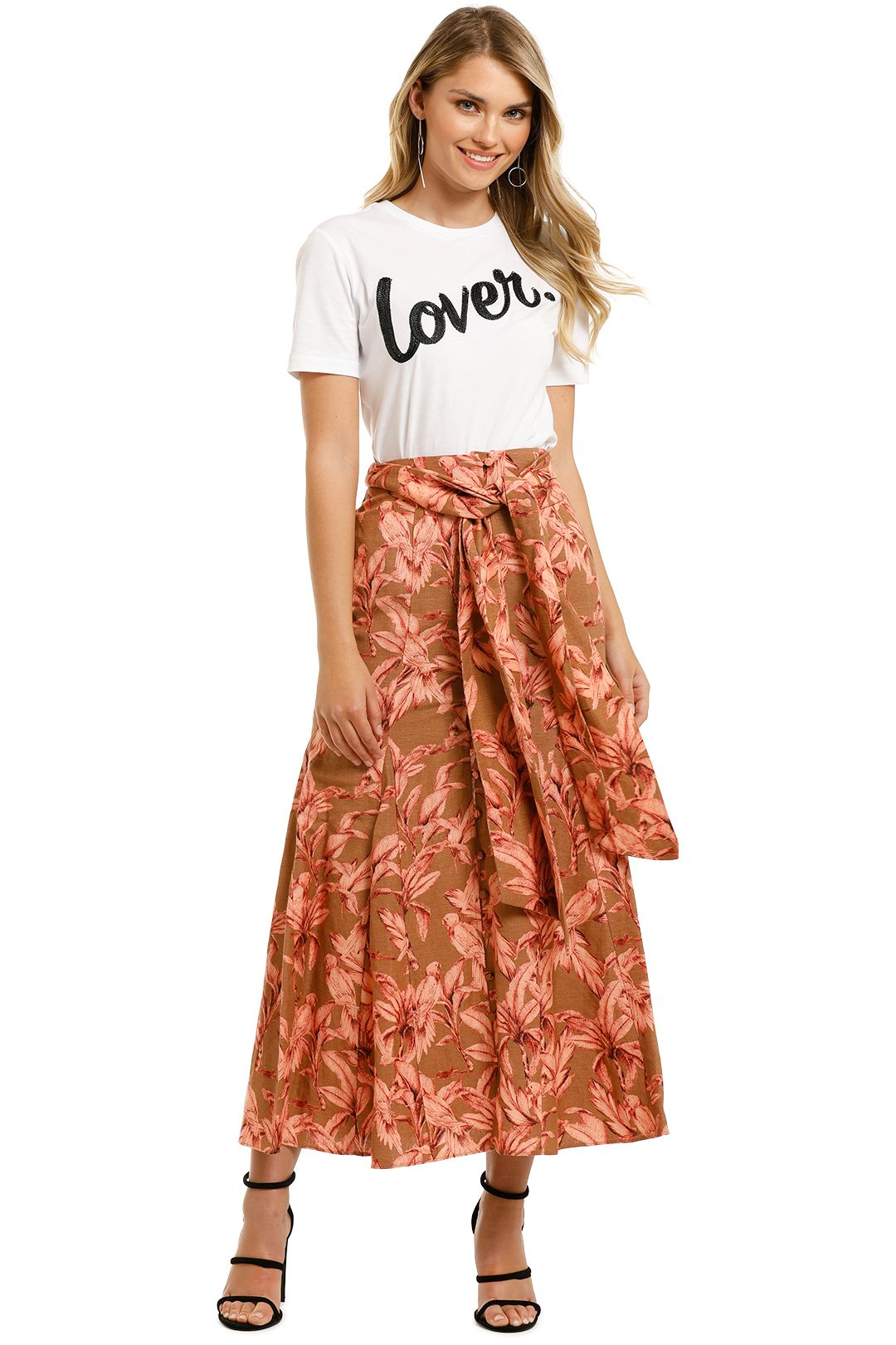 Significant-Other-Sienna-Skirt-Chestnut-Palm-Front