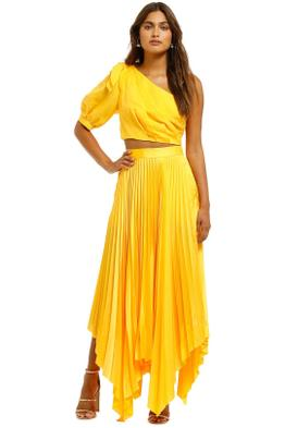 Significant Other Dahlia Bodice and Eden Skirt Set Marigold Yellow