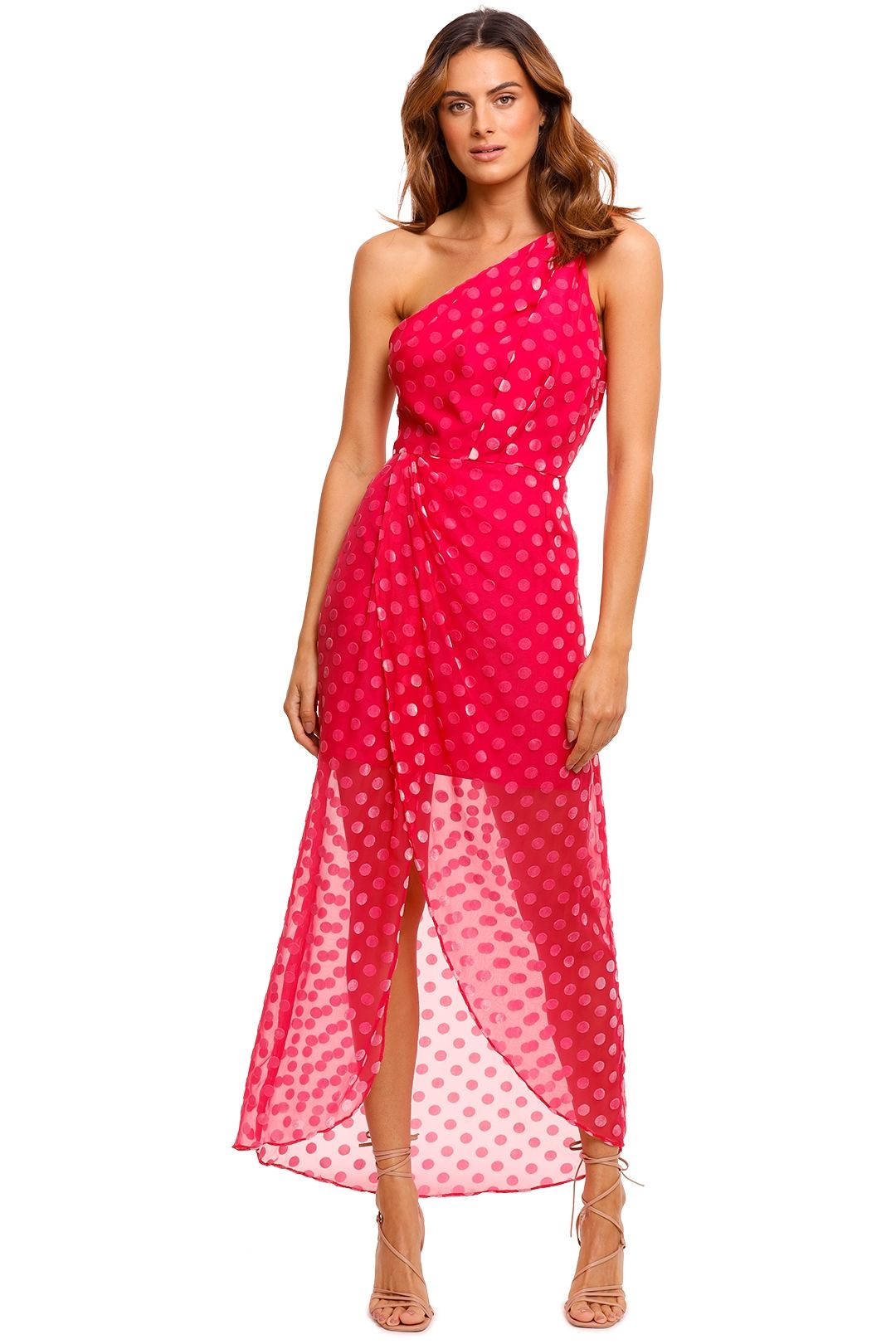 Significant Other Eden Polka Midi Dress