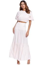 Significant Other Fara Top and Fara Skirt Set Blush