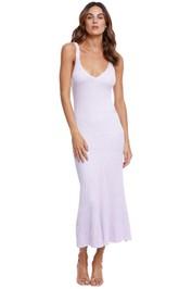 Significant Other Liv Midi Dress Purple