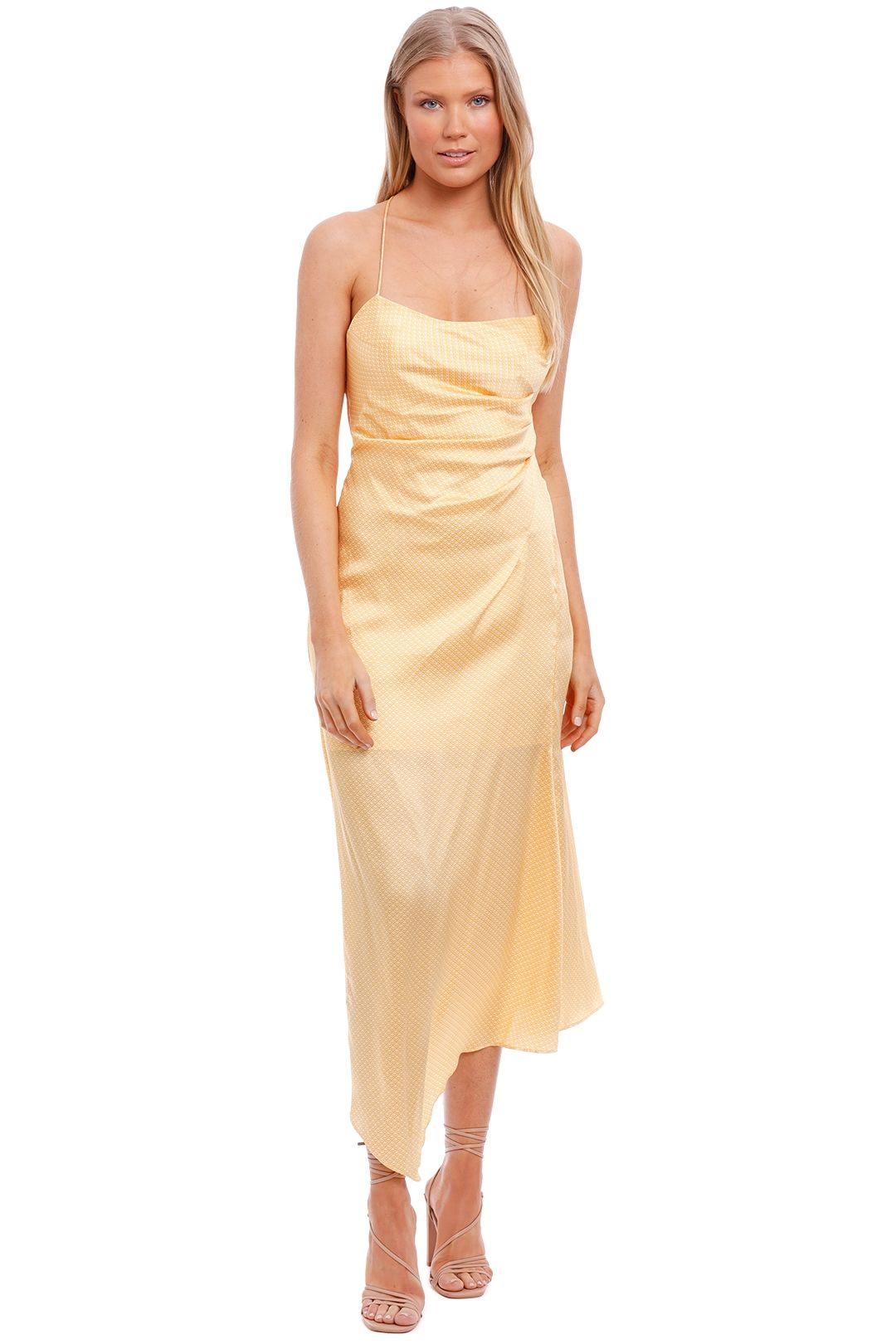 Significant Other One Another Dress Yellow
