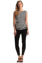 Soon-Maternity-Margot-Overbelly-Jeans-Black-Front
