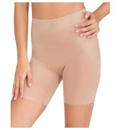 Spanx - Skinny Britches Nude Mid Thigh Short - Nude - Front