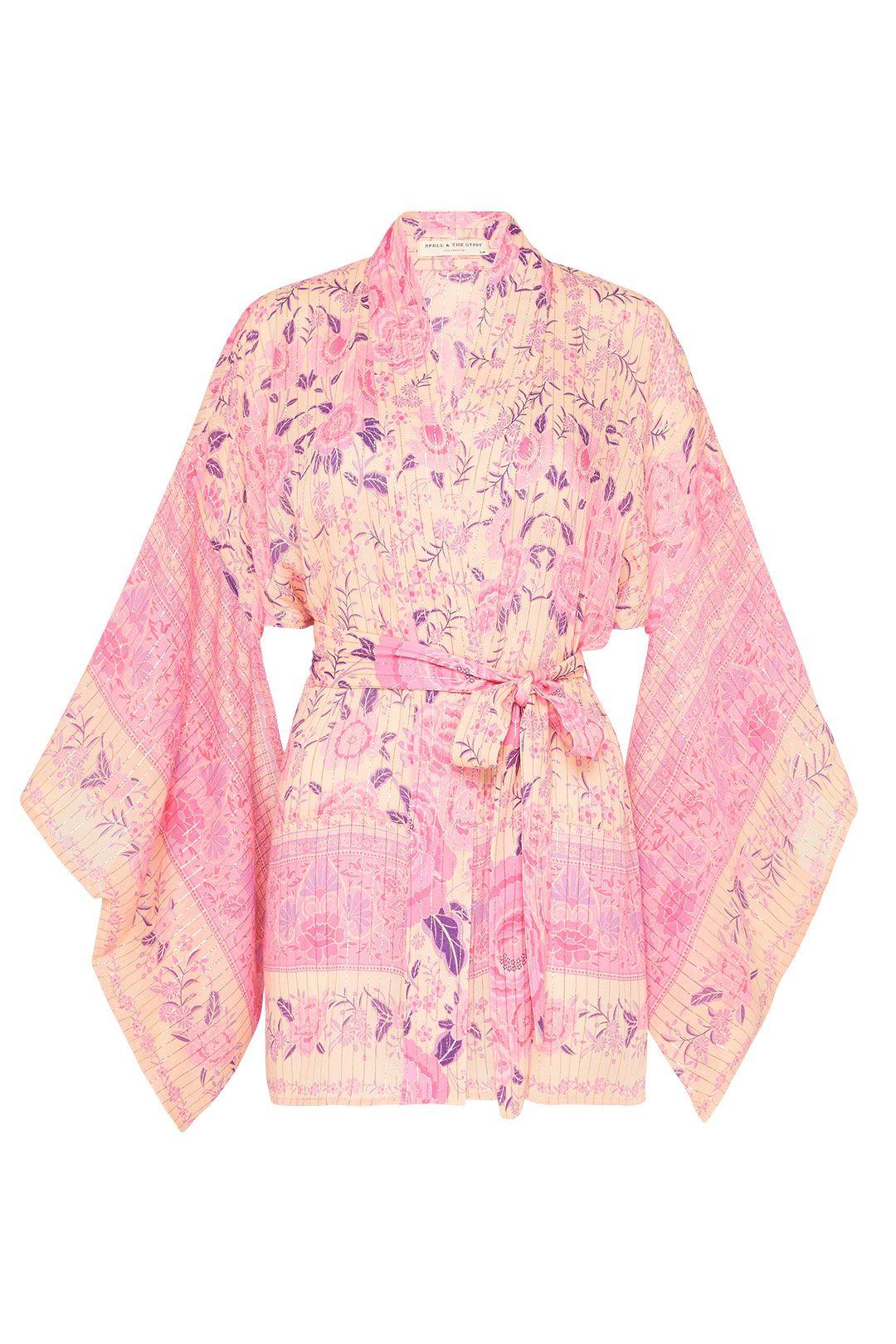 Spell Mystic Short Robe Musk Floral