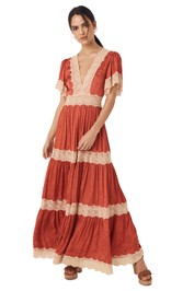 Ocean Gown Copper