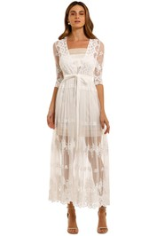 Spell Canyon Moon Mesh Duster embroidered floral