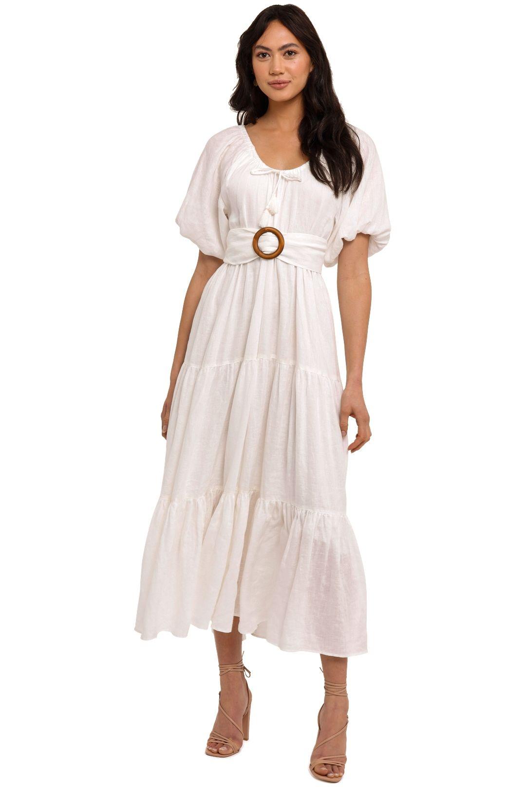 Spell Gardenia Gown White Maxi