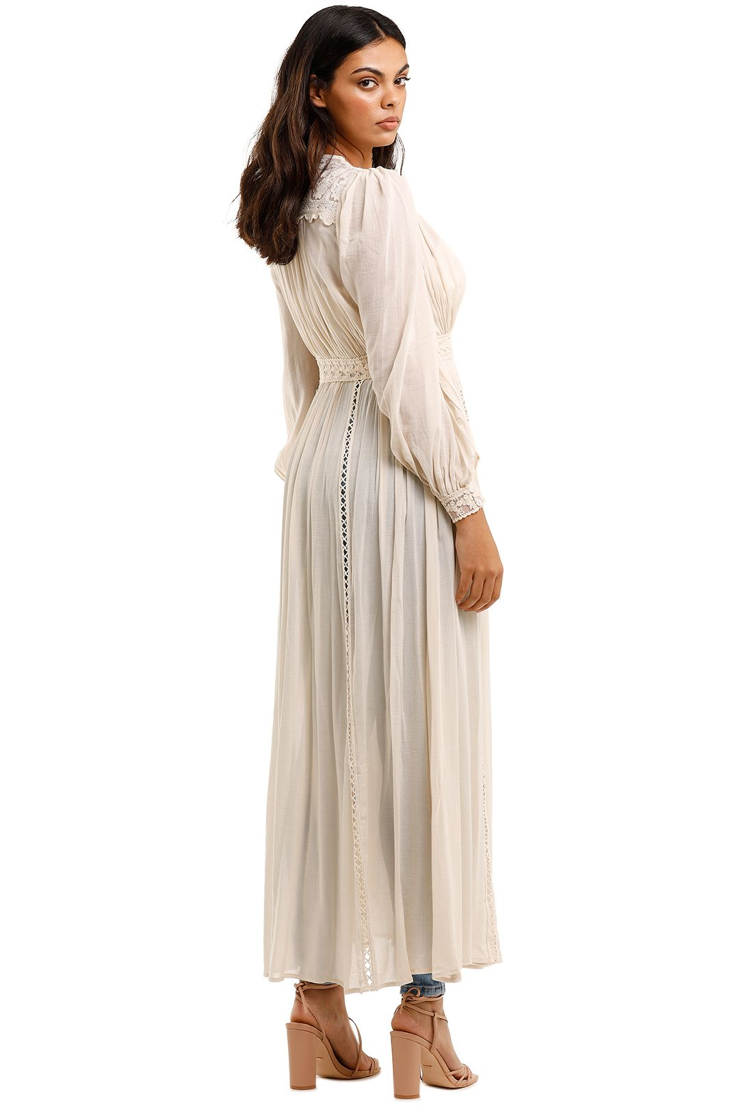Spell Le Gauze Lace Duster Maxi Length