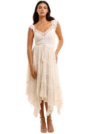 Spell Le Gauze Lace Kerchief Dress