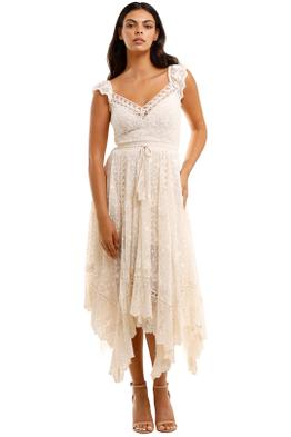 Spell Le Gauze Lace Kerchief Dress