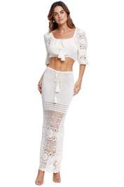 Spell Let the Sunshine in Crochet Top and Skirt Set