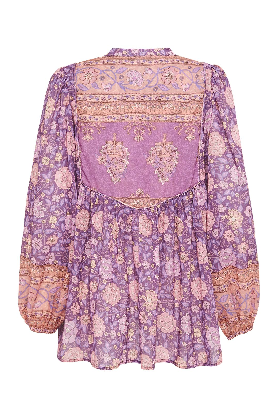 Spell Love Story Long Sleeve Blouse Royal Lilac Long Sleeves