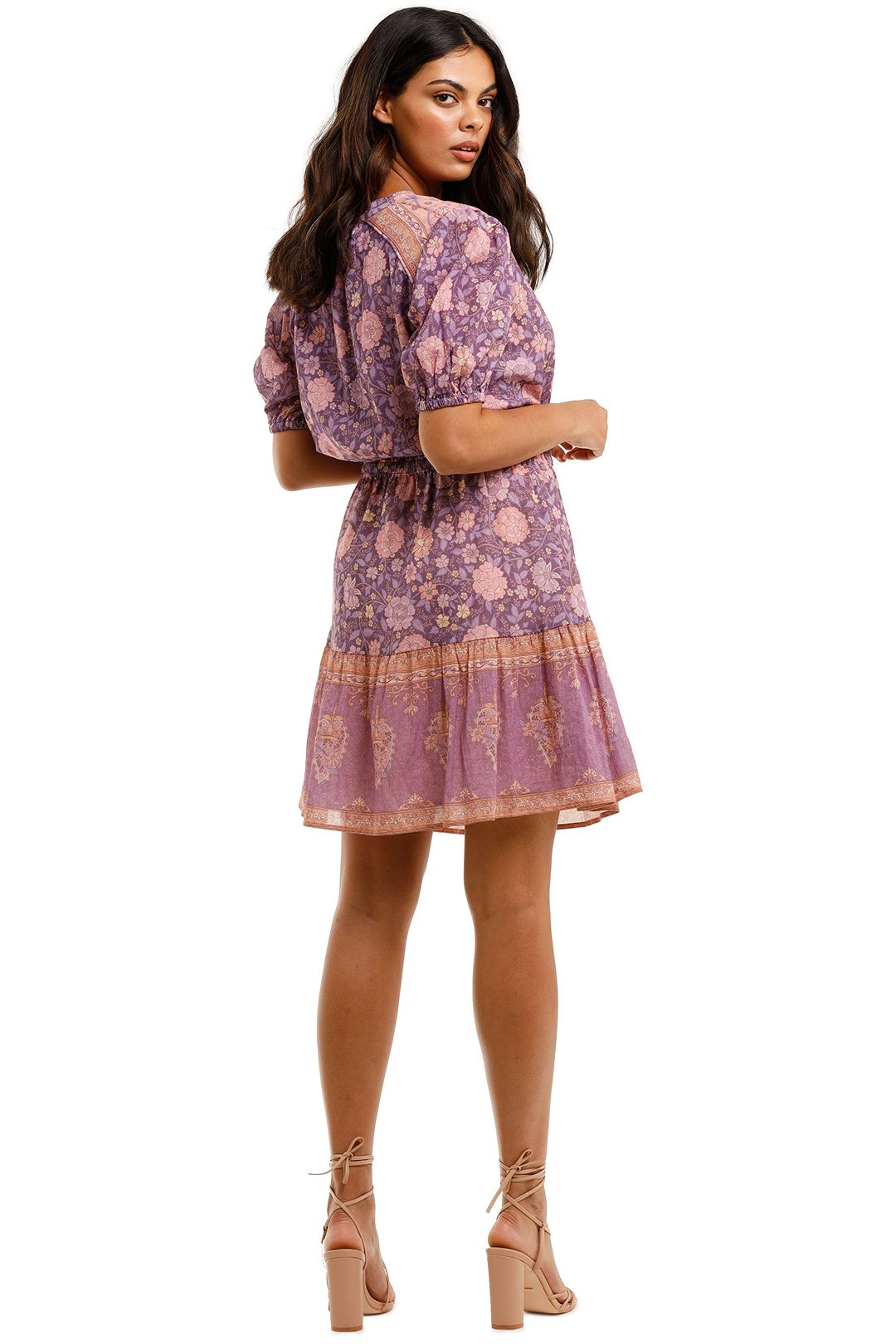 Spell Love Story Playdress Royal Lilac Floral