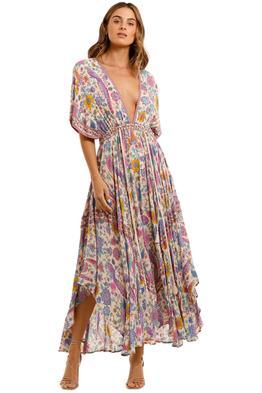 Spell Lovebird Half Moon Gown Chamomile