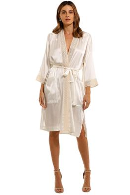 Spell Lula Midi Robe cream
