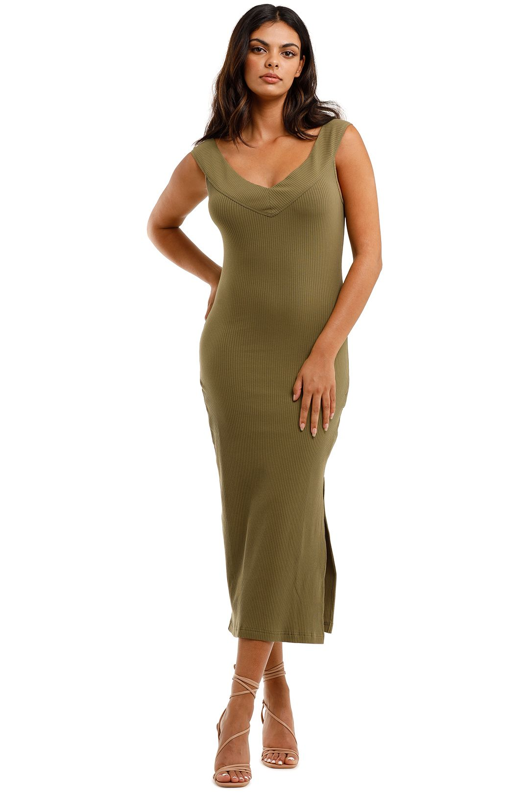 Spell Mazzy Ribbed Dress