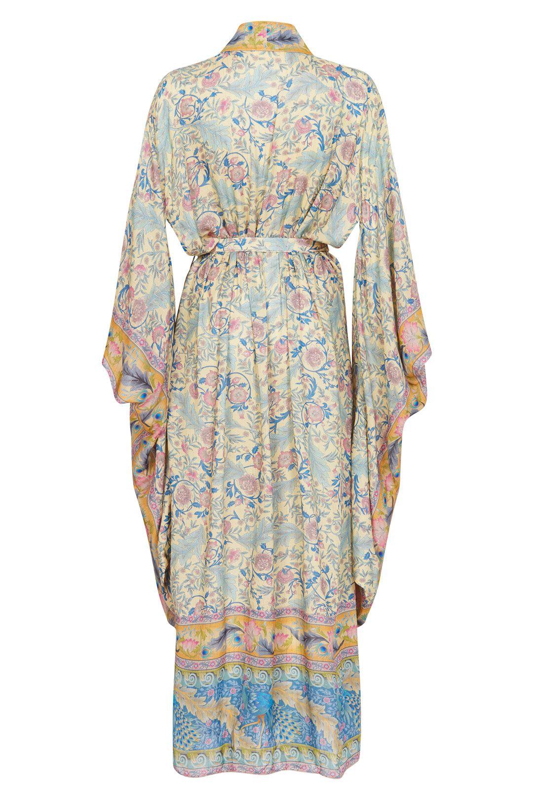 Spell Oasis Robe Opal Kimono Sleeves