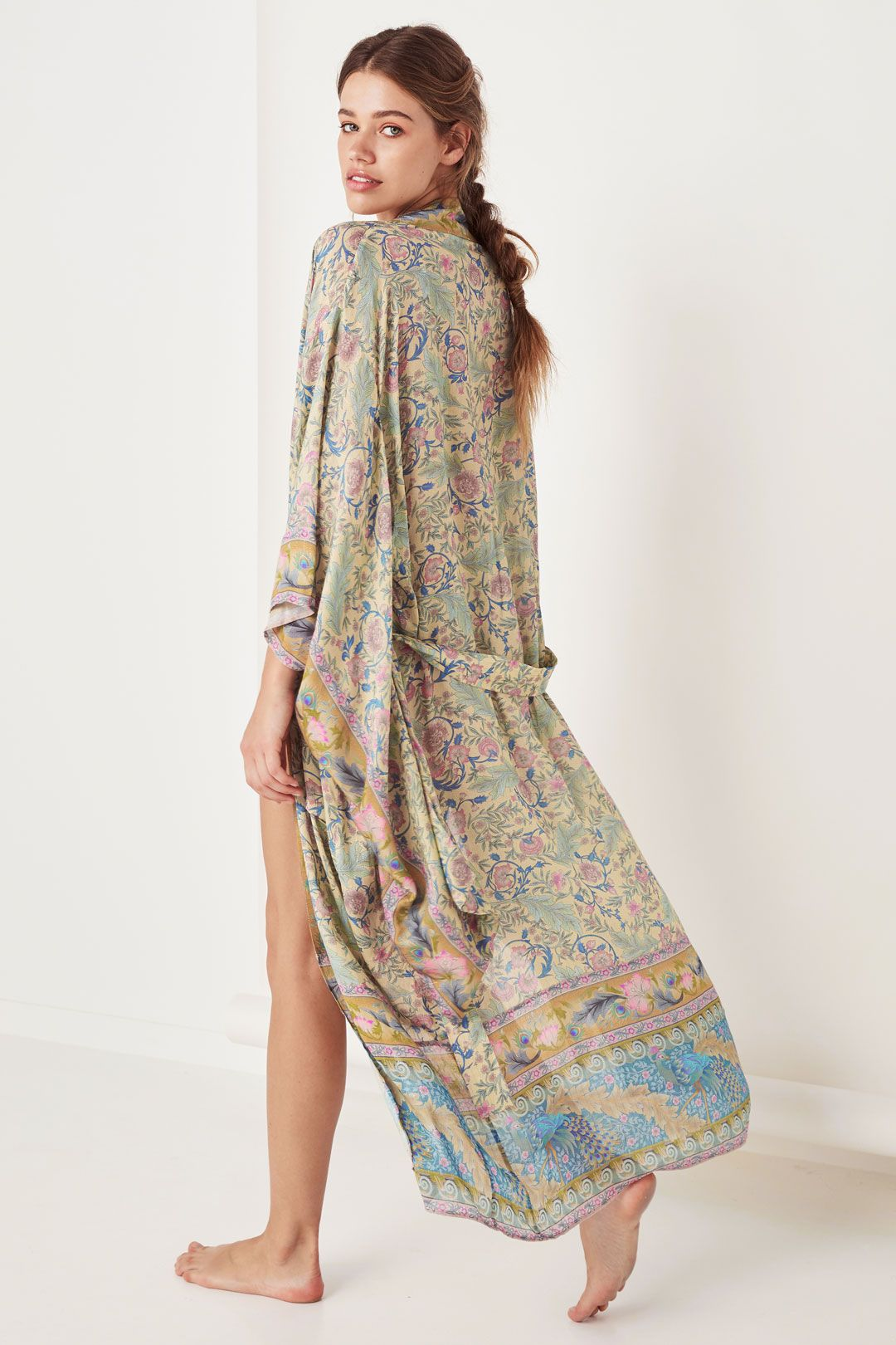 Spell Oasis Robe Opal Maxi Length