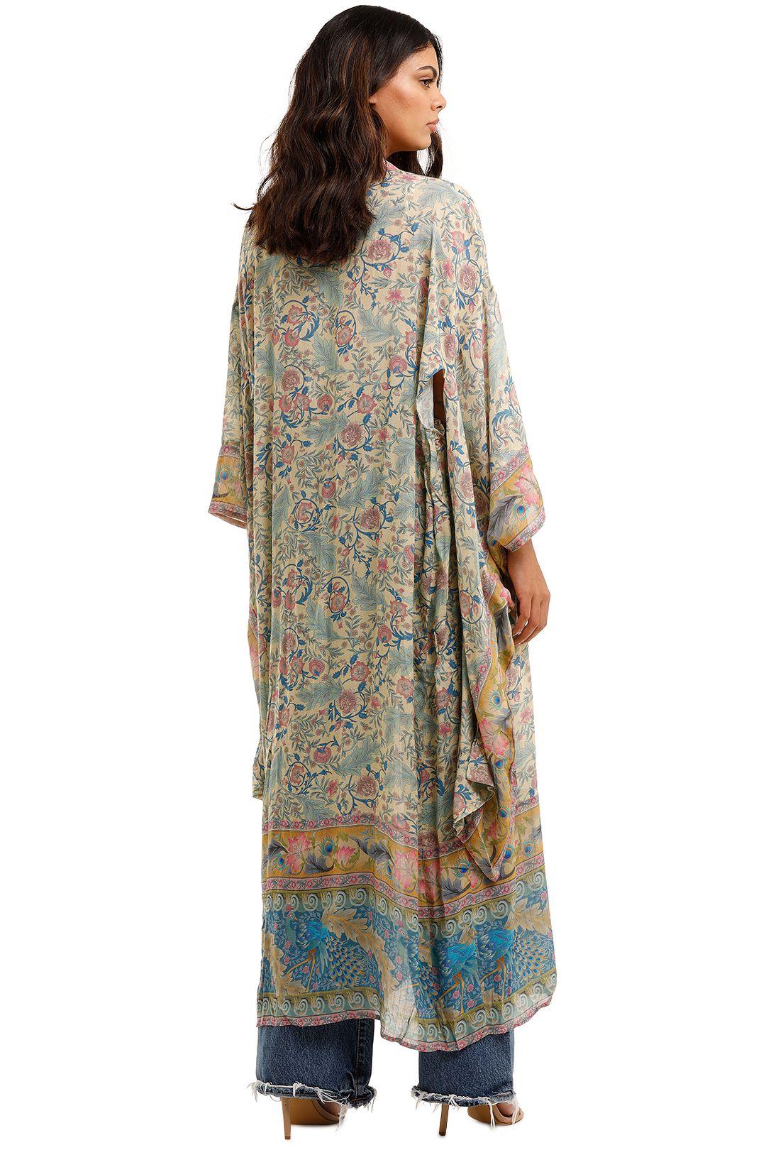 Spell Oasis Robe Opal Midi Length