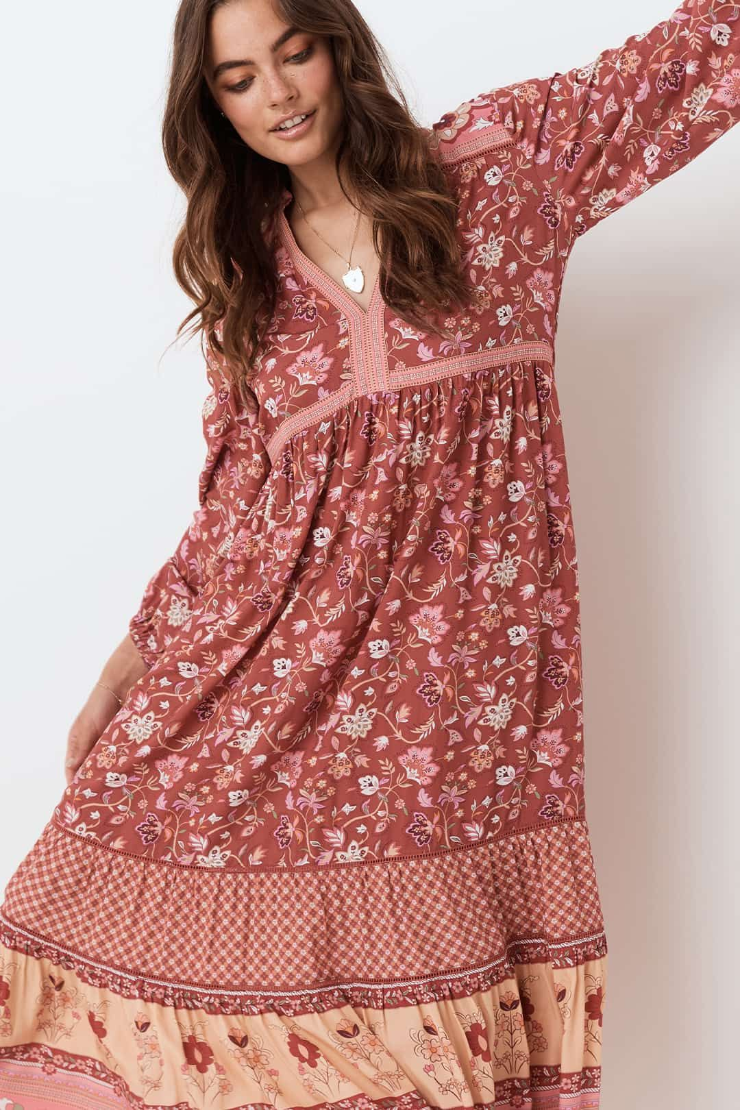 Spell Portobello Road Gown Relaxed Fit