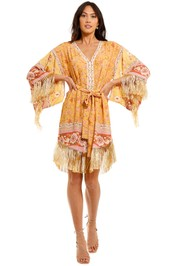 Spell Portobello Road Tassel Dress Mustard Seed