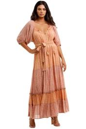 Spell Rae Gown Peach