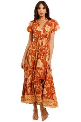 Spell Sloan Gown Ochre