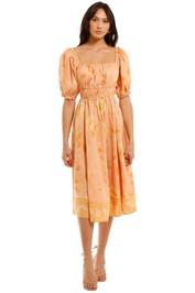 Spell Sloan Soiree Dress Peach