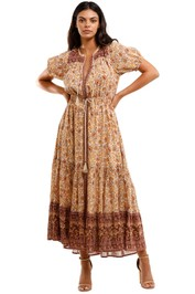 Spell Sundown Gown Spice maxi Dress