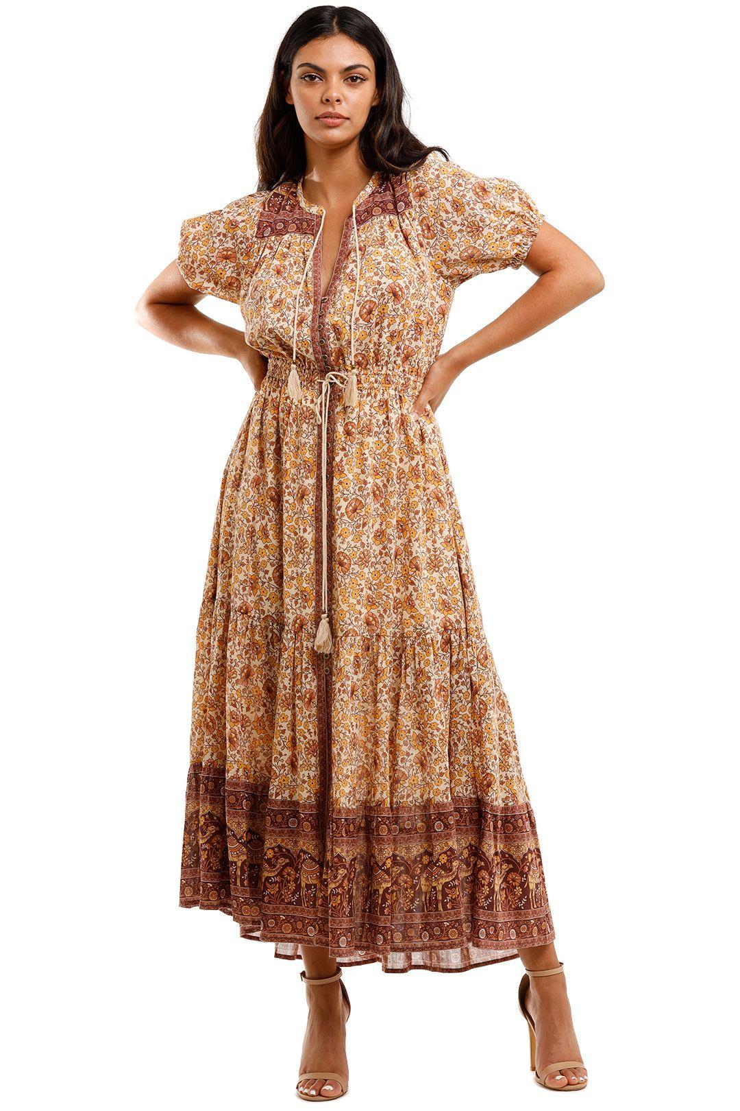 Spell Sundown Gown Spice maxi Dress