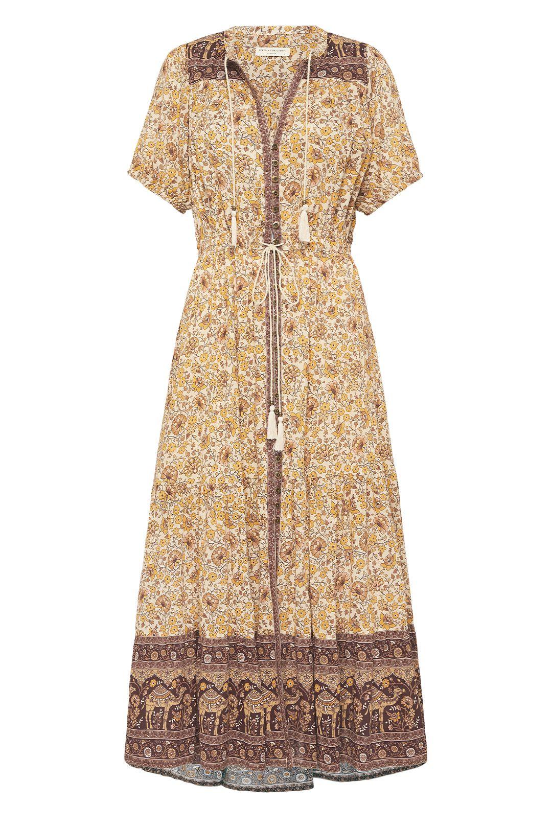 Spell Sundown Gown Spice V Neckline