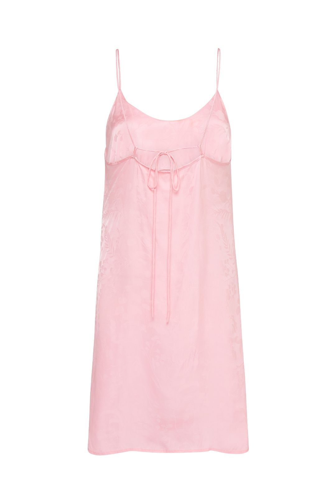 Spell Verona Mini Slip Dress 90s Pink Bias Cut