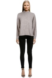 Staple-The-Label-Mock-Neck-Jumper-Natural-Front