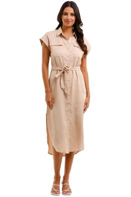 Staple The Label Echo Shirtdress button front