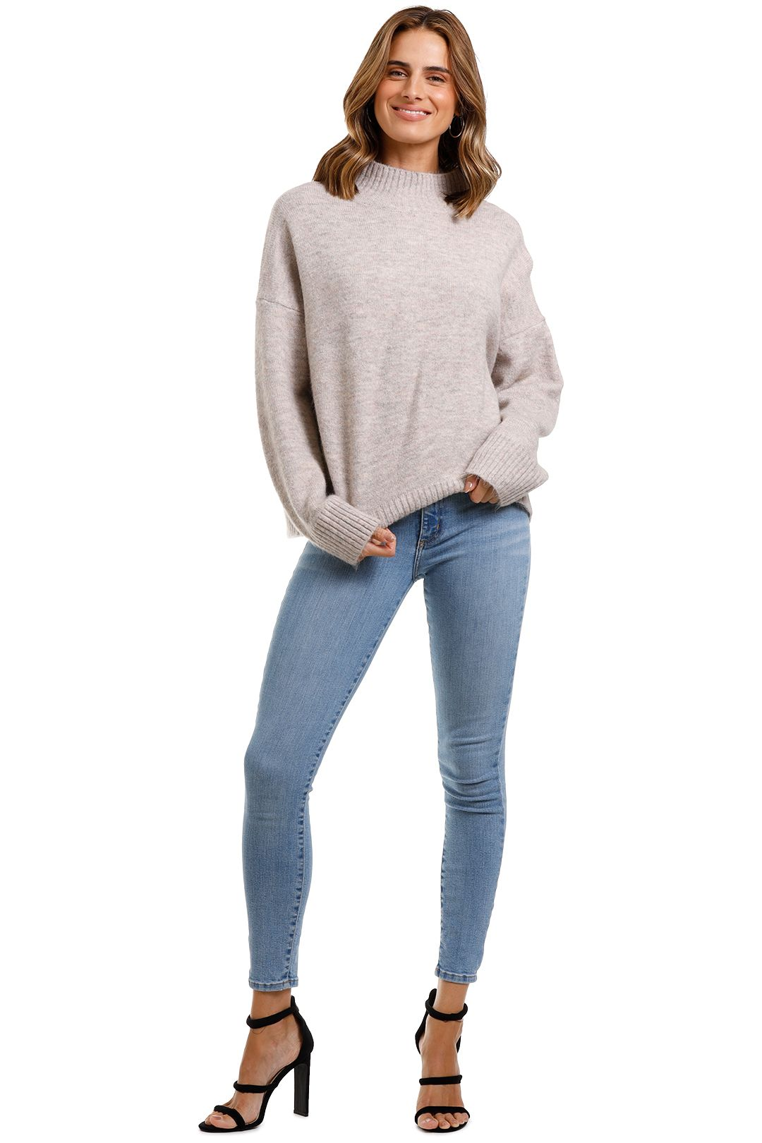 Staple The Label Mock Neck Jumper