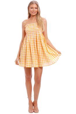Steele Ayanna Dress orange