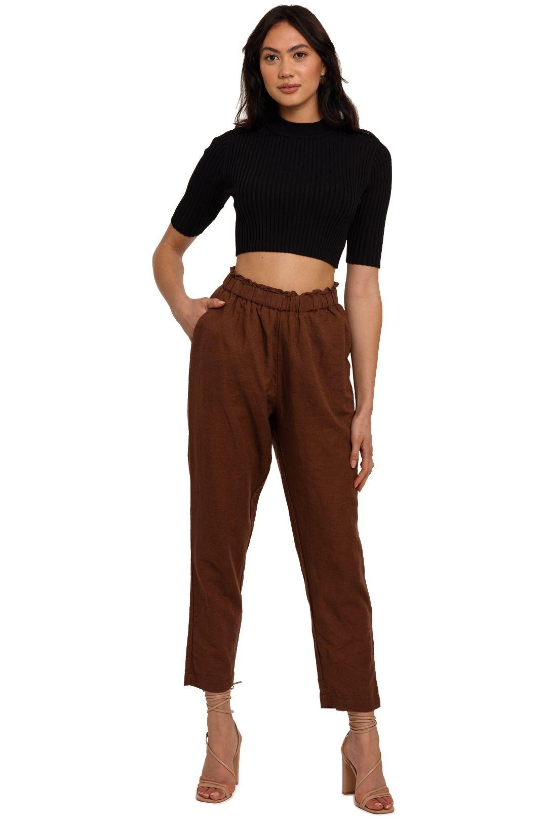 Steele Bane Pant brown