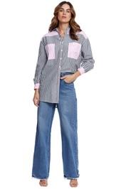 Steele Danzio Shirt contrast