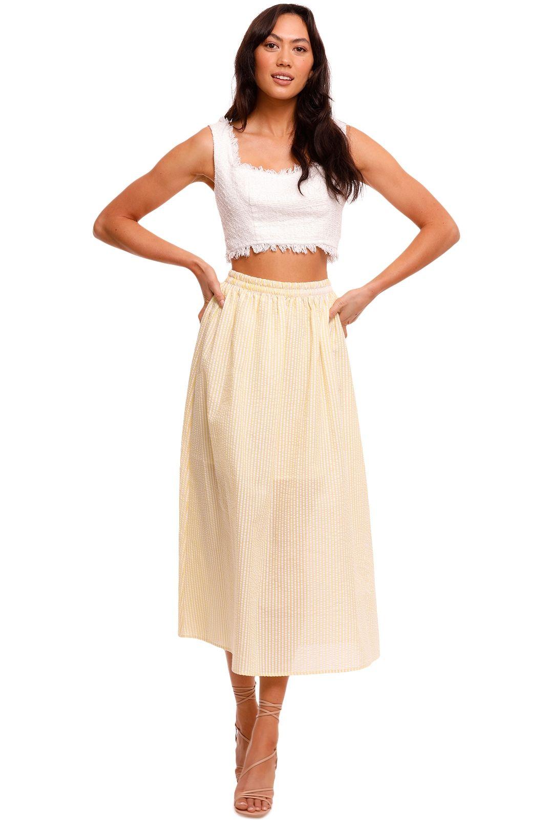 Steele Rolland Skirt Check
