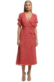 Stevie-May-Claret-Midi-Dress-Red-Micro-Floral-FrontA