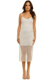 Stevie-May-Concord-Midi-Dress-Silver-Front