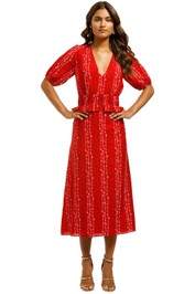 Stevie-May-Gracie-Midi-Dress-Red-Front