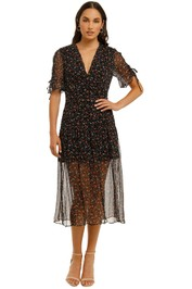 Stevie-May-Harriet-Midi-Dress-Silk-Road-Front