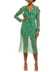 Stevie-May-Jade Valentine-LS-Maxi-Dress-Moss-Floral-Front