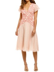 Stevie-May-Reign-Midi-Dress-Red-White-Front