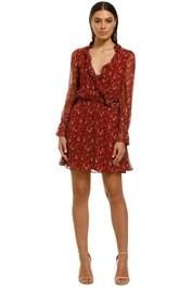 Stevie-May-Sweet-Caroline-Mini-Dress-Maroon-Floral-Front