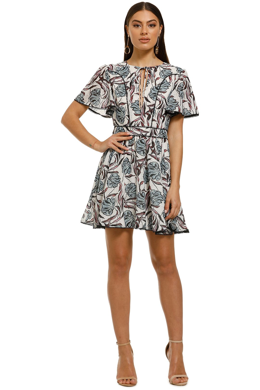 Stevie-May-Sweet-Sister-Mini-Dress-Sister-Ray-Print-Front